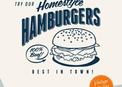 Homestyle Hamburgers